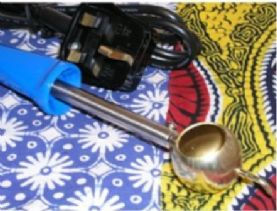 Batik Dyes and Tools